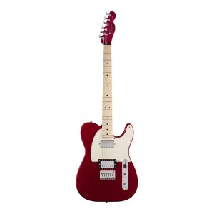 Guitarra Squier Contemporary Telecaster HH MN Dark Metallic Red