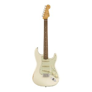 Guitarra Fender Road Worn 60' Stratocaster Pau Ferro Olympic White