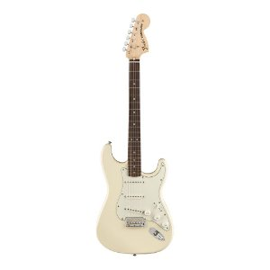 Guitarra Fender Sig Series Albert Hammond Jr Stratocaster Olympic White