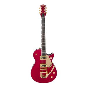 Guitarra Gretsch G5435 Tg LTD Electromatic Pro Jet Gold Bigsby Candy Apple Red