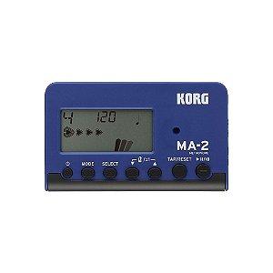 Metrônomo Digital Korg MA 2 BLBK