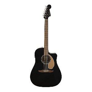 Violão Fender Redondo Player Jetty Black