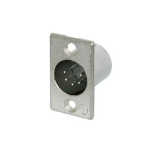Conector Neutrik NC5MP