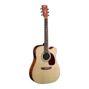 Violão Cort Dreadnought Aço MR 500E Open Pore