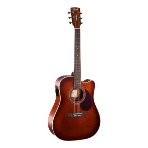 Violão Cort Dreadnought Aço MR 500E Brown Burst