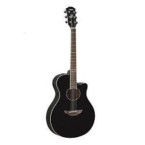 Violão Yamaha Flat APX 600 Black Eletroacústico