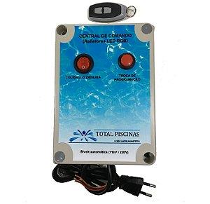 Caixa de Comando para LED RGB TOTAL PISCINAS