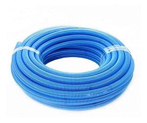 Mangueira Flutuante transparente com espiral azul  KANAFLEX