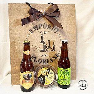 Sacola cerveja artesanal + petiscos P