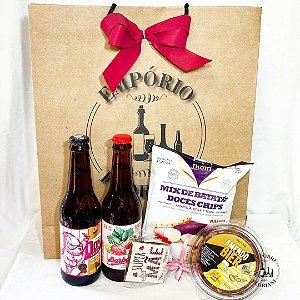Kit cerveja e petiscos especial Dia das Mães