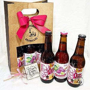 Kit cerveja artesanal especial Dia das Mães