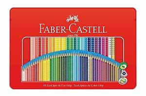 Lapis De Cor Faber Castell 48 Cores Grip
