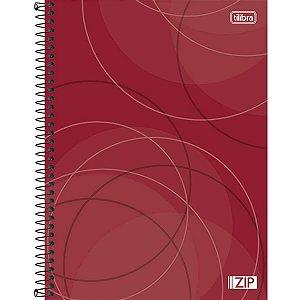 Caderno Espiral Capa Dura Universitário 20 Matérias Zip 400 Folhas