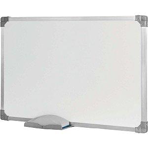 Quadro Escolar Moldura Alumínio 60x40 Cm Branco Standard Stalo