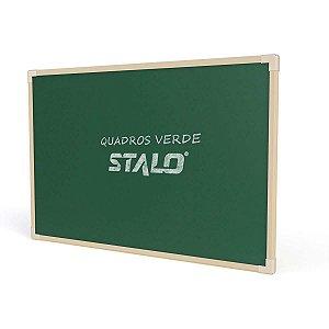 Quadro Escolar Verde 40x30cm Moldura Madeira Stalo
