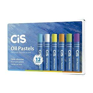 Giz Pastel a Óleo  CiS -  12 Cores
