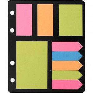 Eagle Sticky Notes - 612NS Bloco adesivo + marcadores de página