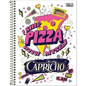 Caderno Univ 1x1 96f CD 137694 Capricho Tilibra