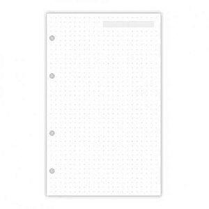 Refil pontilhado planner A5 30 fls Otima - ref 4881-5