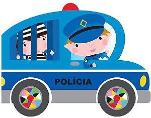 O carro da polícia