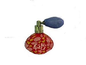 Mini Porta Perfume com Vaporizador