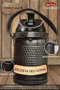 Garrafa Inox 2,5L Black Snake
