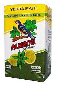 Erva Mate Pajarito Menta Limão 500g