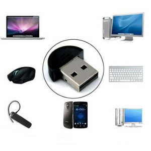Adaptador Bluetooth Dongle Usb 2.0 Pc Notebook Celular | V19 PARA COMPUTADORES OU NOTEBOOKS