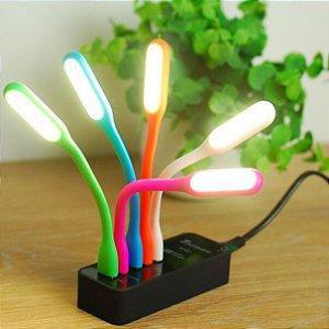 Lanterna Usb Led Luminária Flexivel Para Notebook ou qualquer entrada usb