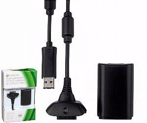 Bateria Carregador Controle 12000mah Xbox 360