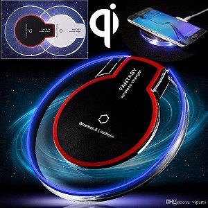 Carregador Sem Fio  Wifi  Fantasy Iphone/samsung/lg/asus/universal