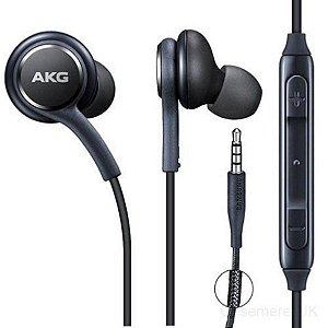 Fone De Ouvido Akg Samsung S8 Potente Microfone