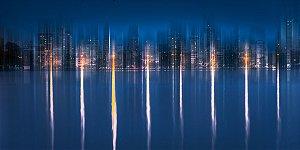 Noite Surreal na Lagoa
