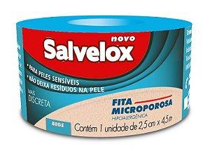 Fita Microporosa Bege Salvelox