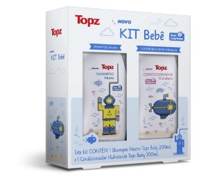 Kit Shampoo + Condicionador Topz Baby 2x200ml