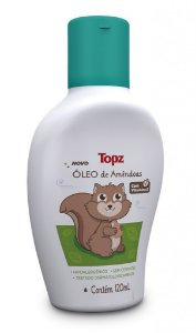 Óleo de Amêndoas Topz Baby 120 ml