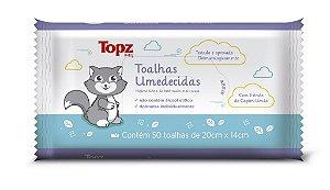 Toalhas Umedecidas Topz Baby 50un