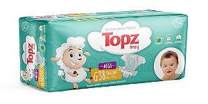 Fralda Descartável Topz Baby Mega G
