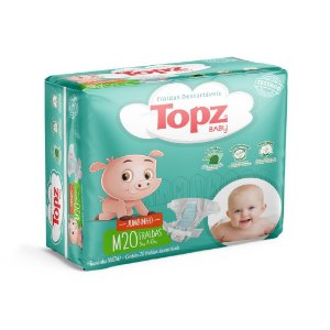 Fralda Descartável Topz Baby Jumbinho M