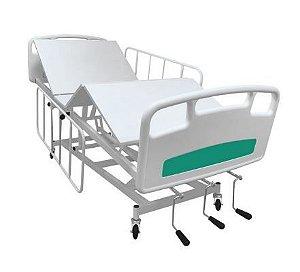 Cama Hospitalar 8 movimentos grades de aço