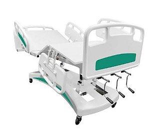 Cama Hospitalar 6 movimentos Base revestida em carenagem decorativa