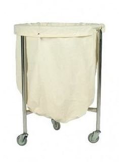 SUPORTE PARA HAMPER HOSPITALAR INOX 100 litros