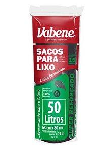 SACO LIXO PRETO VABENE 200L. 5UN/ROLO -