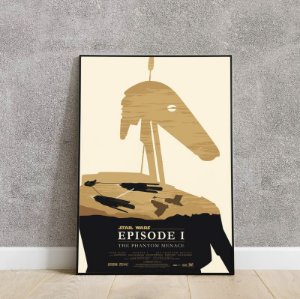 Placa decorativa do STAR WARS 4