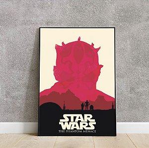 Placa decorativa do STAR WARS 5