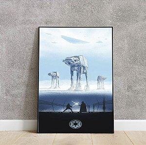 Placa decorativa do STAR WARS 7