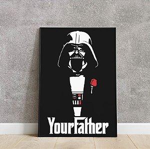 Placa decorativa Star Wars 5