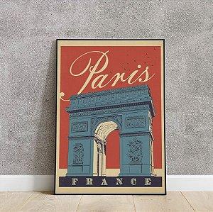Placa decorativa Lugares do mundo 2