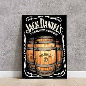 Placa decorativa Jack Daniel's