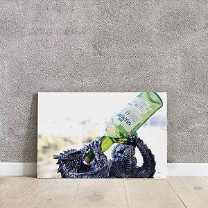 Placa decorativa de bebida